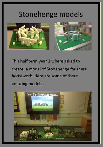 巨石阵的模型