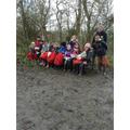The children ready to begin their hill walk!