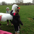 Just swanning around!