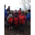 The children admiring the views!