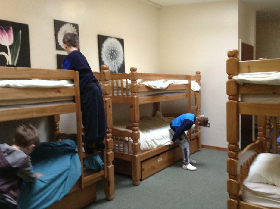 Making our beds ... no excuses now!