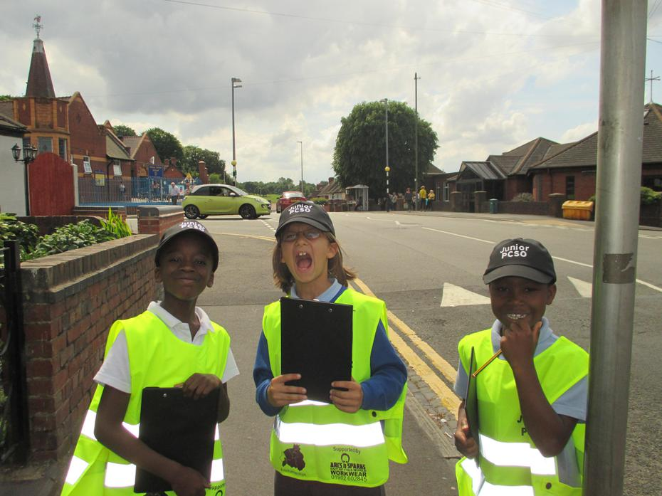 Team 3 patrolling the double yellow lines