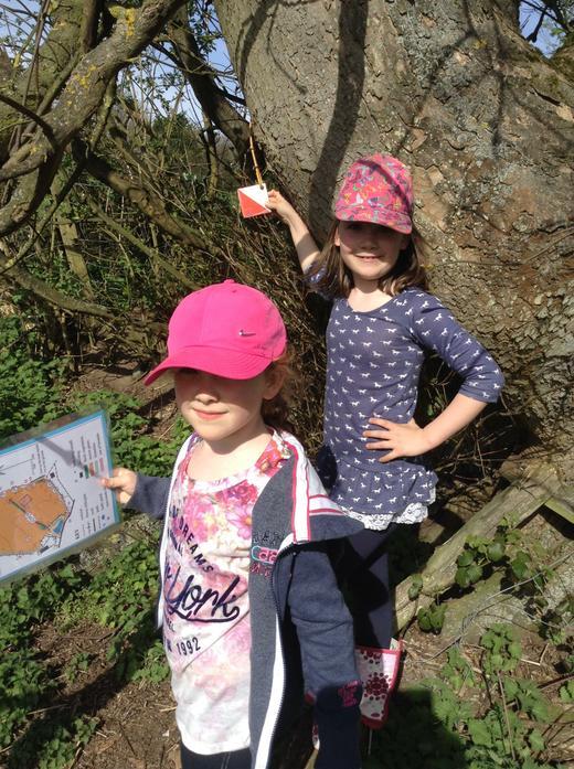 Our orienteering skills are brilliant!