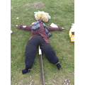 This Scarecrow won the Foundation /Key Stage