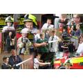 Fire Service visit July 2015
