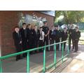 Visiting Police Cadets September 2015