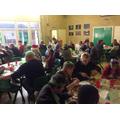 School Christmas lunch 2016