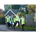 Litter-Picking volunteers