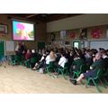 Whole school assembly led by Rev. John Ross