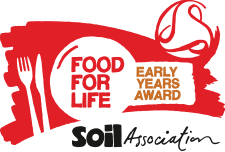 We received our Food for Life Award in Summer 2018