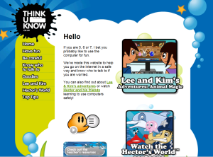 If you are 5,6 or 7  you can access some great games and also learn about using the internet safely.