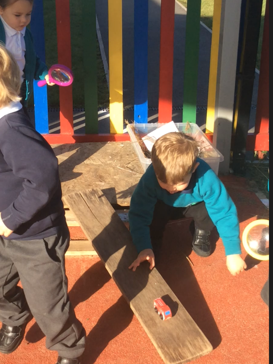 Exploring slopes and motion