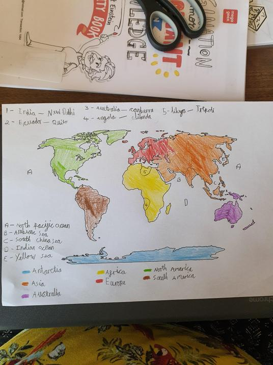 WOW! Check out Phillipa's map