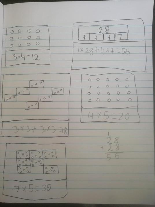 Oli's maths
