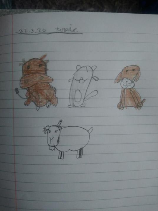 Kaidan's fab drawings.