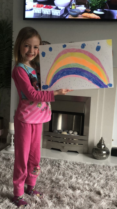 Have any of you spotted Isla's rainbow?
