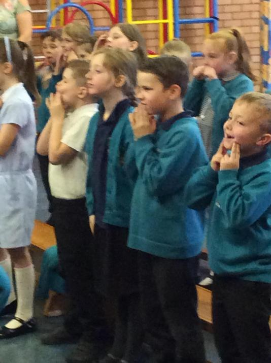 On Wednesday we sang together.