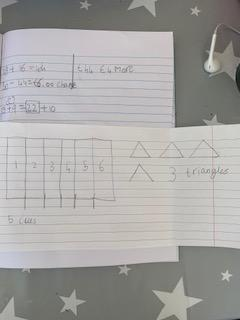 Emmy's maths today.