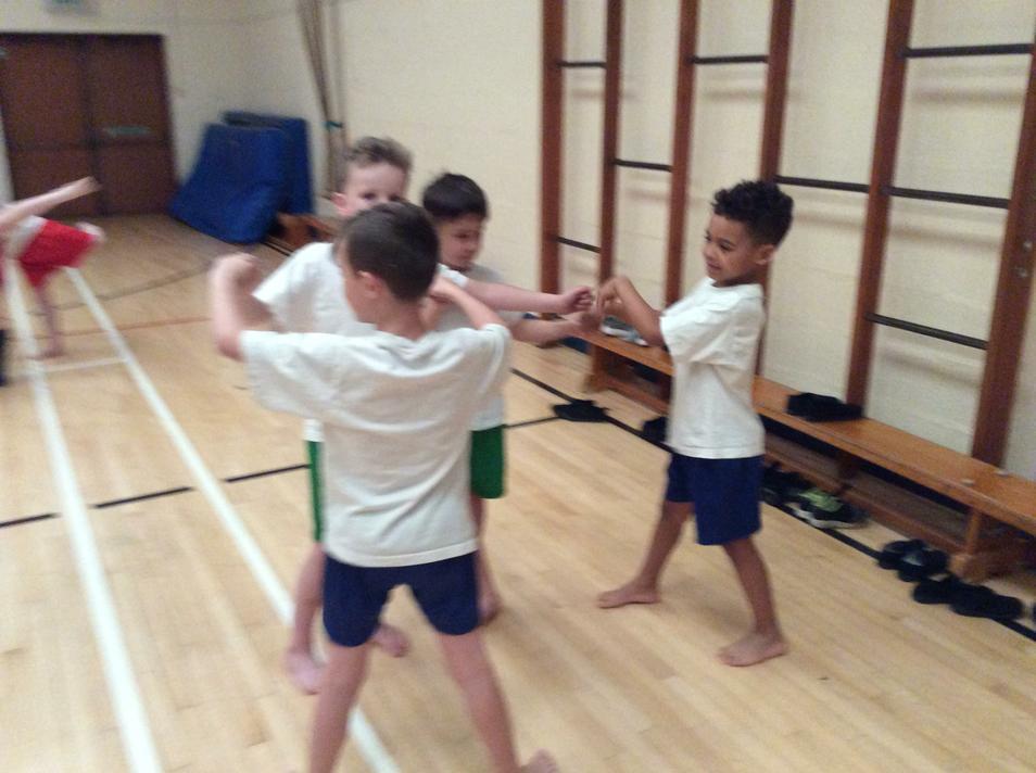 A dance workshop