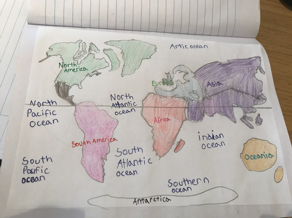 What an accurate drawing of the world Sonny.
