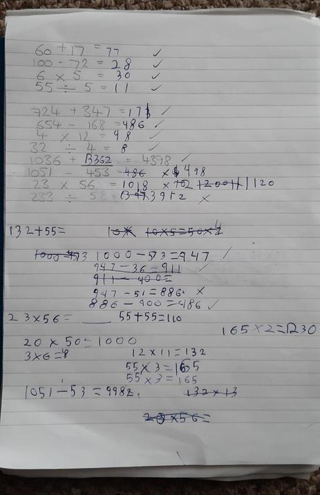 Zakk's maths.