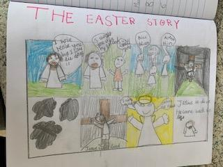 Emmy's action packed Easter story.