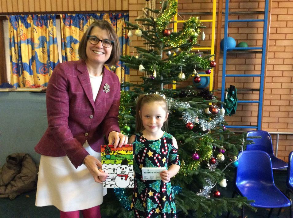 D.N won Rachel Maclean's competition!