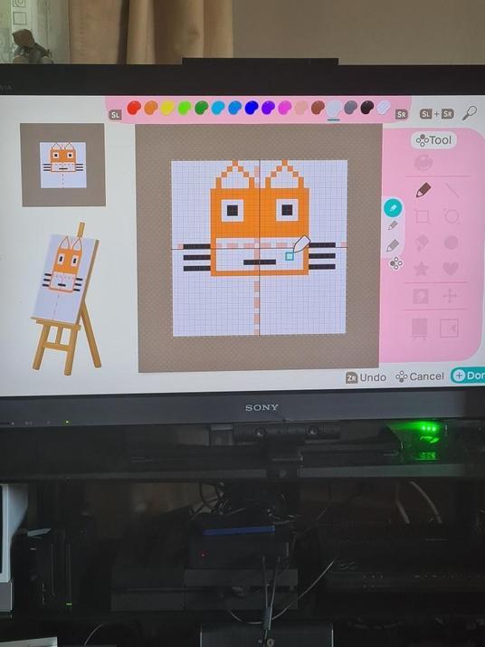 Michael's fox design.