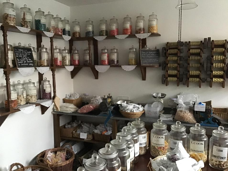 Old-fashioned sweet shop.