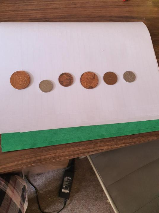 Phillipa solved the coin problem with her family!