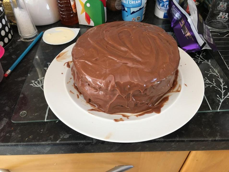 Eddie's cake!!