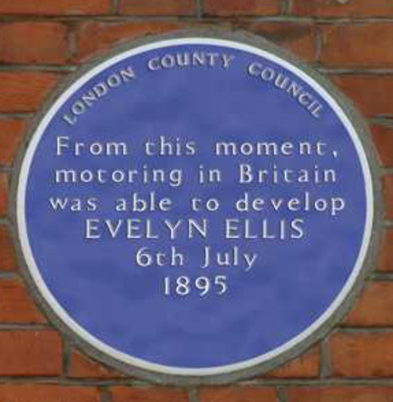 Blue plaque fact - the RSA came up with the idea!