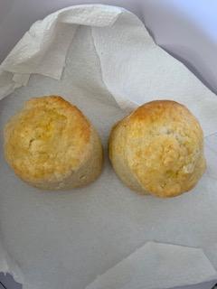 Emmy's scones!