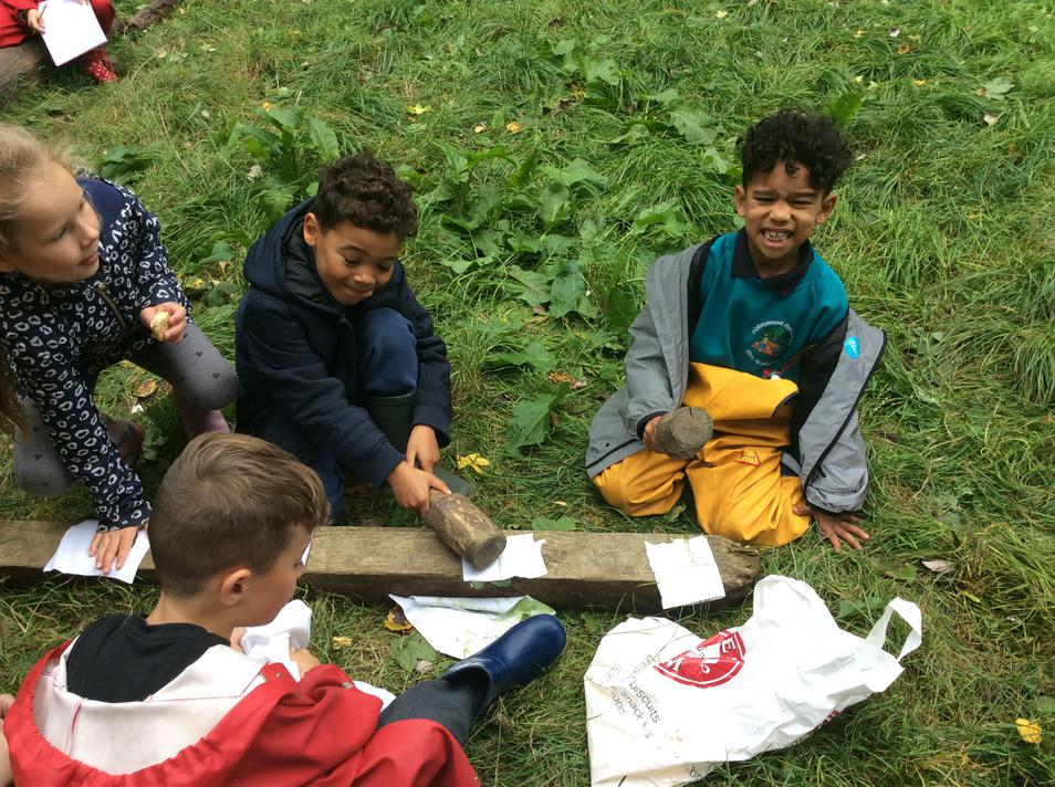 Look at the Forest School page for more photos.