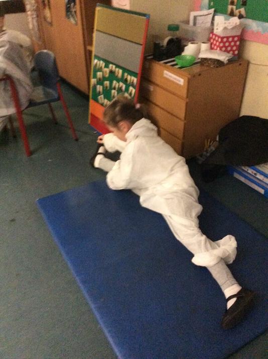 Astronaut in training!