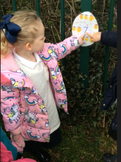 Following the clues ... where are the eggs?