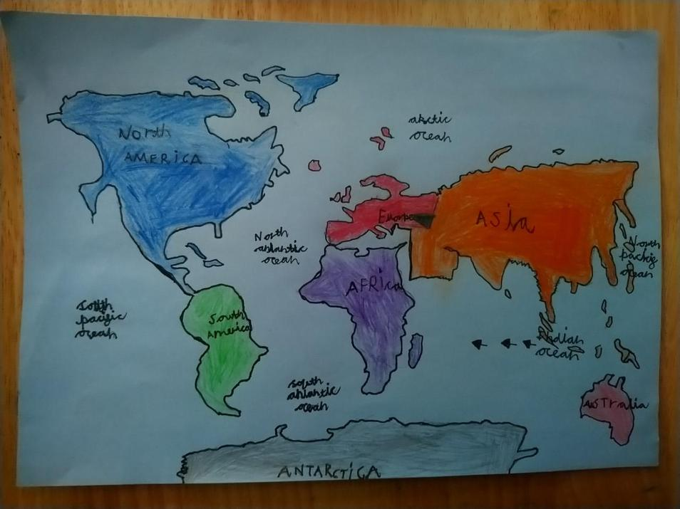 Kaidan's colourful map.