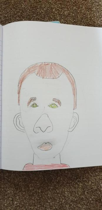 Michael's amazing portrait