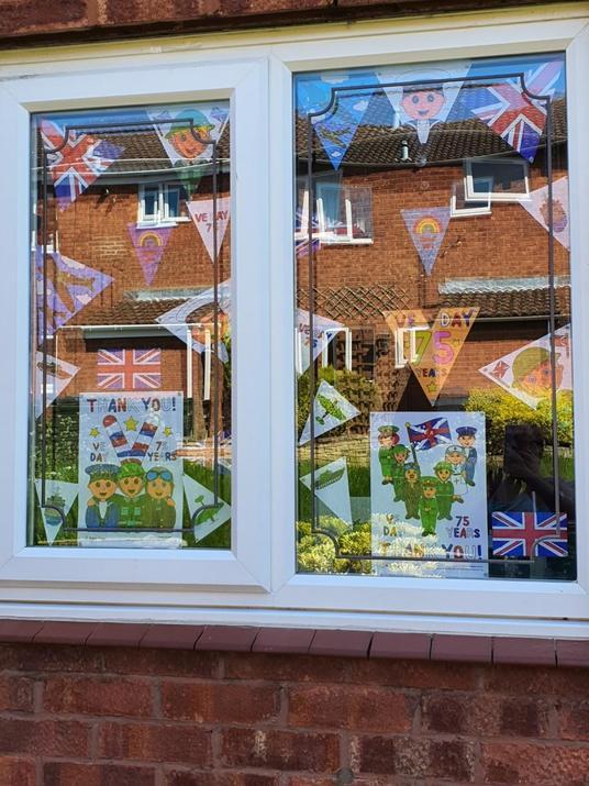The Swanborough's VE Day celebrations!