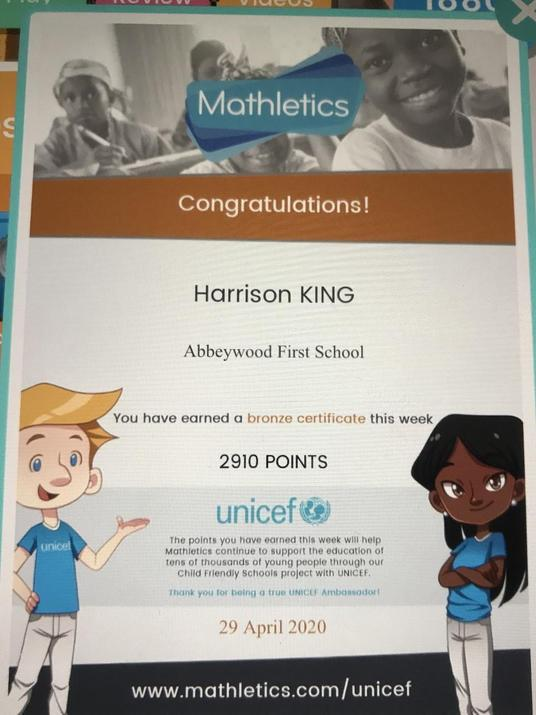 Another bronze for Harrison!