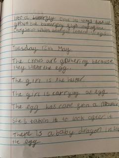 Emmy's literacy ideas.