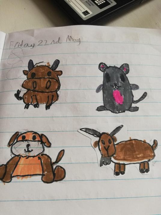 Fab cartoon animals Will.