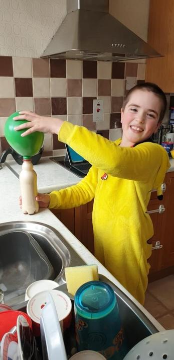 Michael's balloon experiment