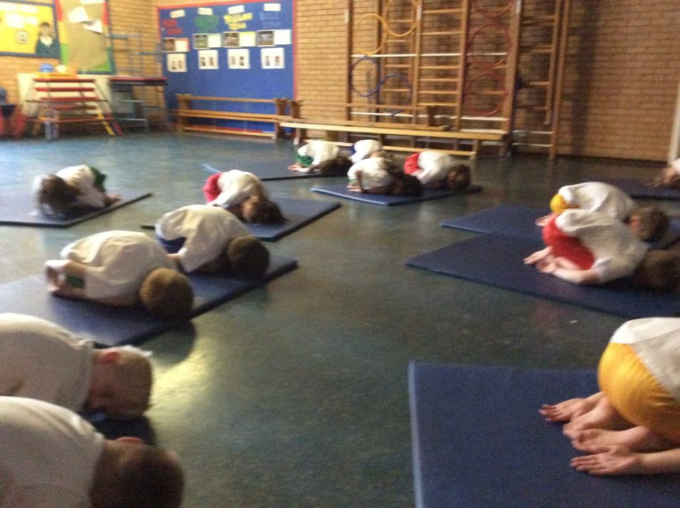 We are creating our own stretches and balances.