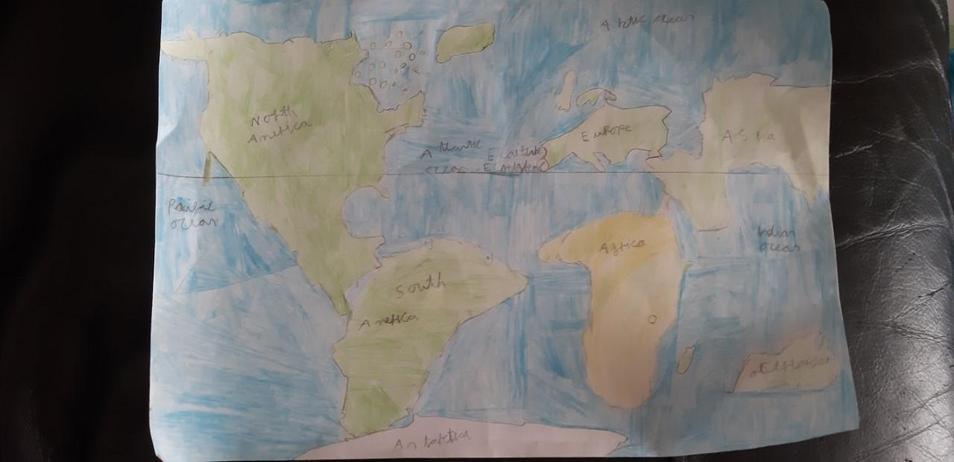 Zakk's detailed map.