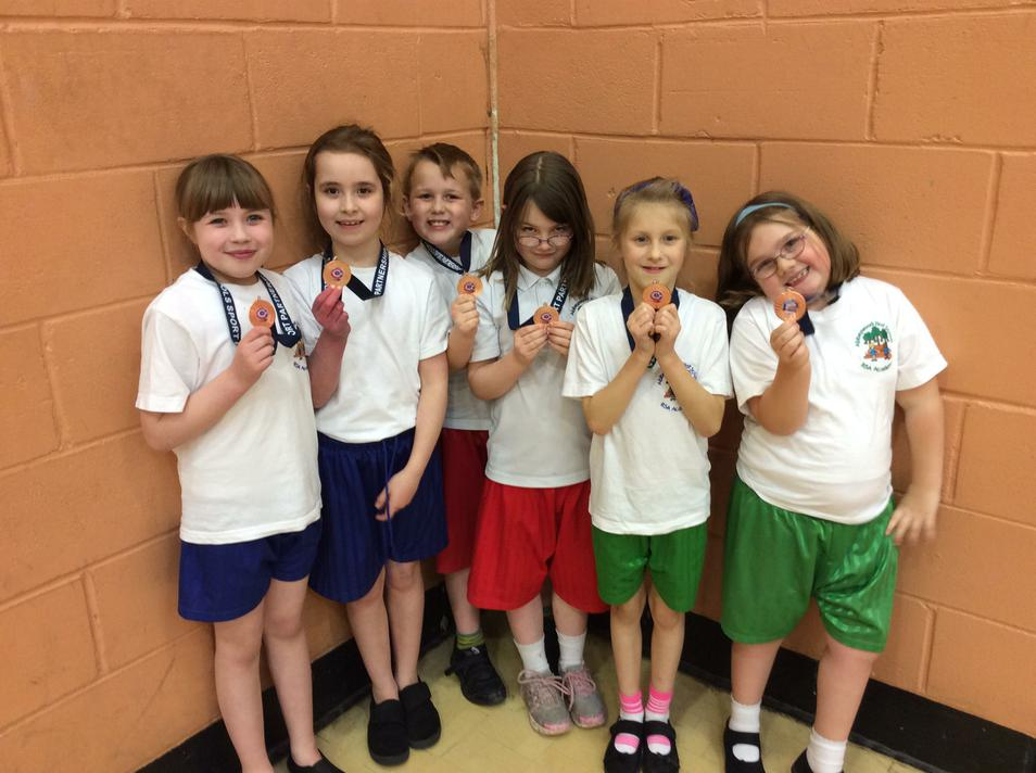 The Abbeywood Year 3 team came 3rd!