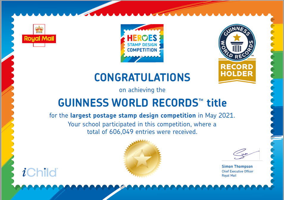 Congratulations to Beech class who are official Guiness World Record holders!