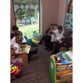 Year 4 Reading buddies