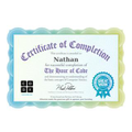 Nathan's coding certificate