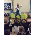 The Mad Scientist came to school.